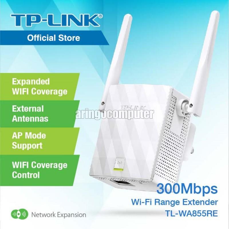 Extender TL-WA855RE 300Mbps RJ45 universal wifi